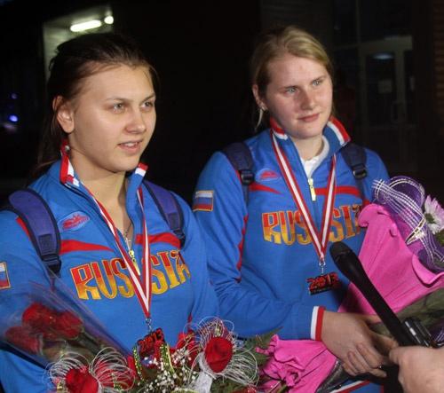 Ксения Карпачёва и Карина Павлова