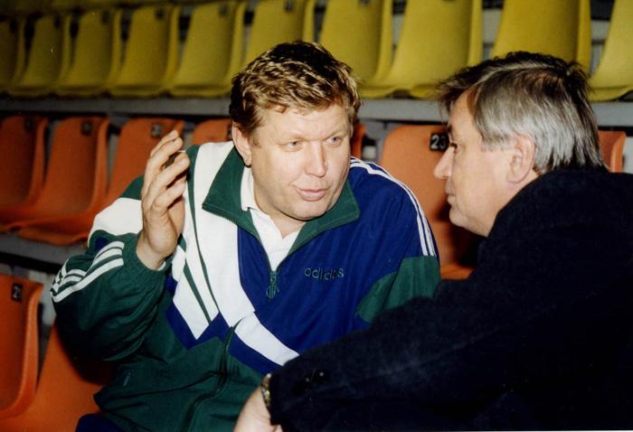 Евгений Трефилов и Юрий Степанов в декабре 1999-го